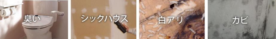菌カビ発場所